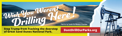 Environmental group puts up Pueblo billboard to defend Great Sand Dunes