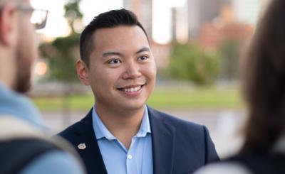 Johnnie Nguyen CU regent candidate