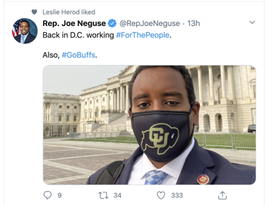 Joe Neguse tweet