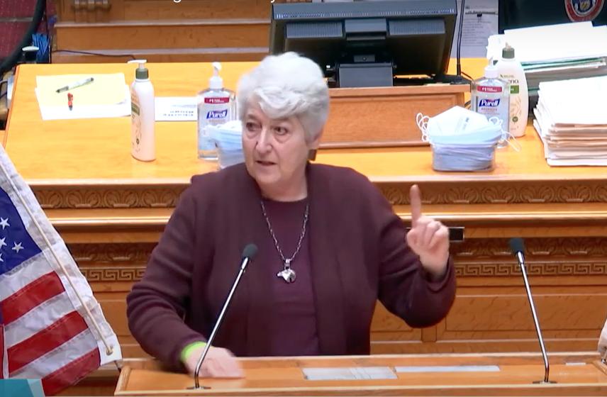 Former Sen. Lois Cout