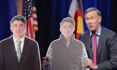 Election 2020 Hickenlooper Which Guy ad