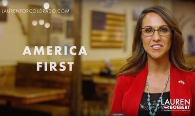 Boebert campaign ad America First