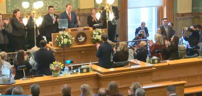 Polis 2019 State of the State applause