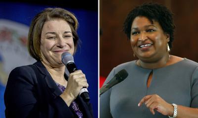 Election 2020 Klobuchar Abrams