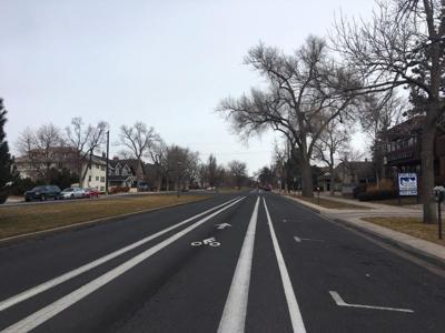 Cascade Avenue bike lane