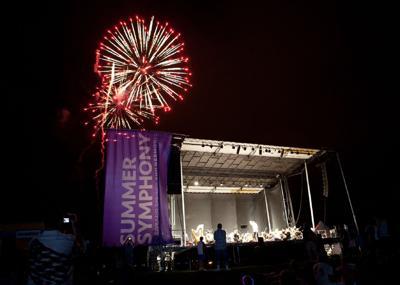 fireworks stage