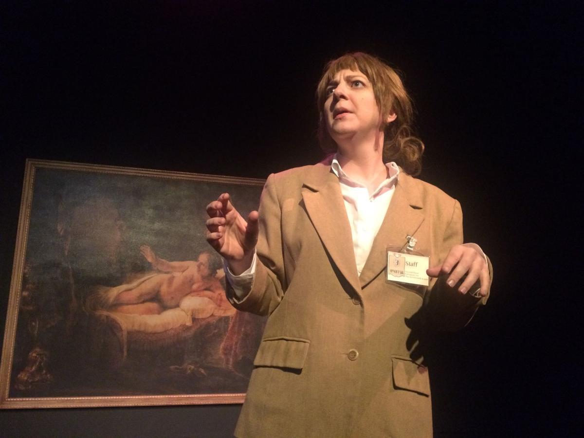 Buntport Theatre's award-winning 'Rembrandt Room' comes to Millibo Art Theatre