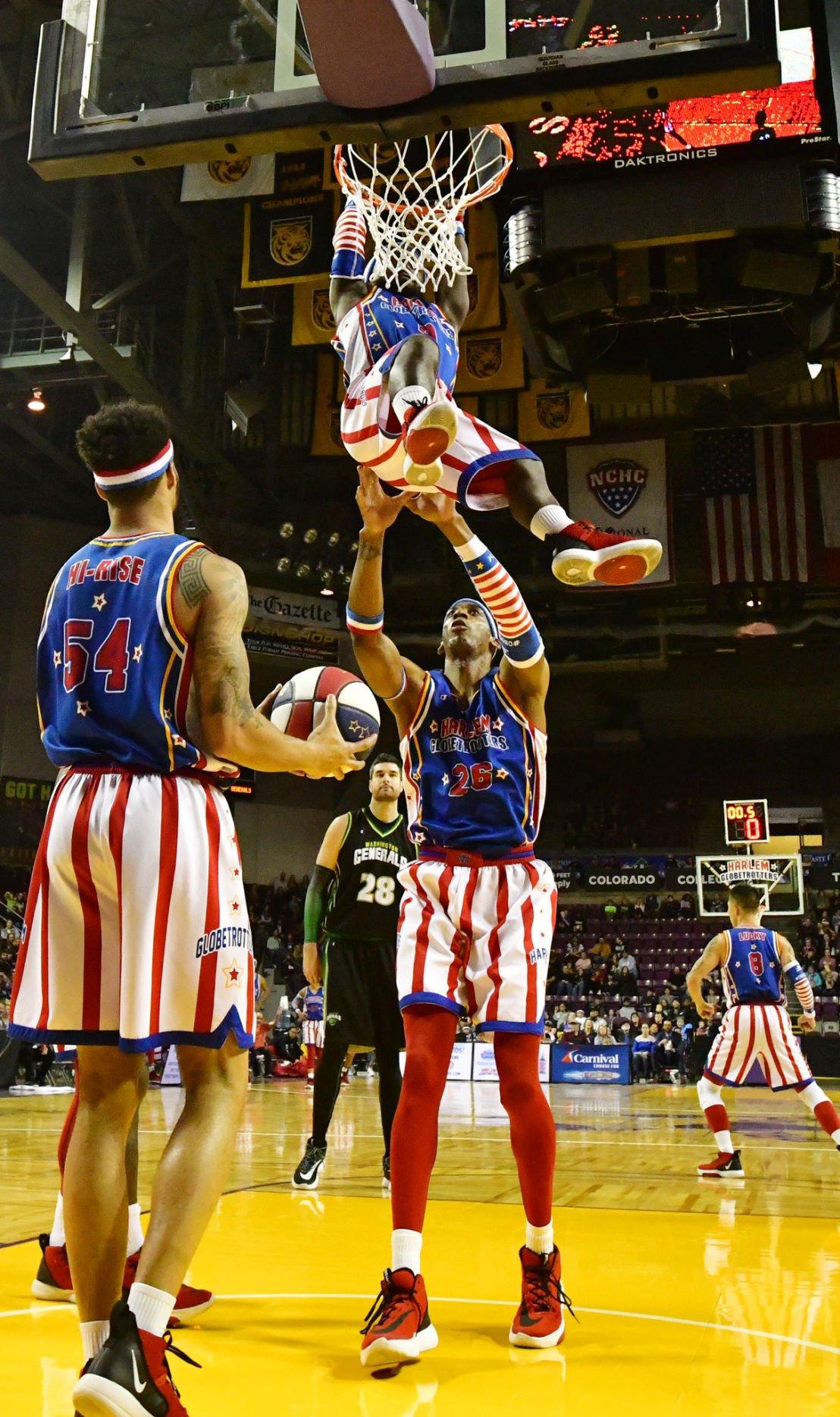 Harlem Globetrotters storm the World Arena (copy)