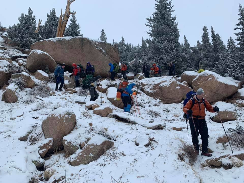 AdAmAn Club was on its way up to Pikes Peak on Dec. 31, 2018