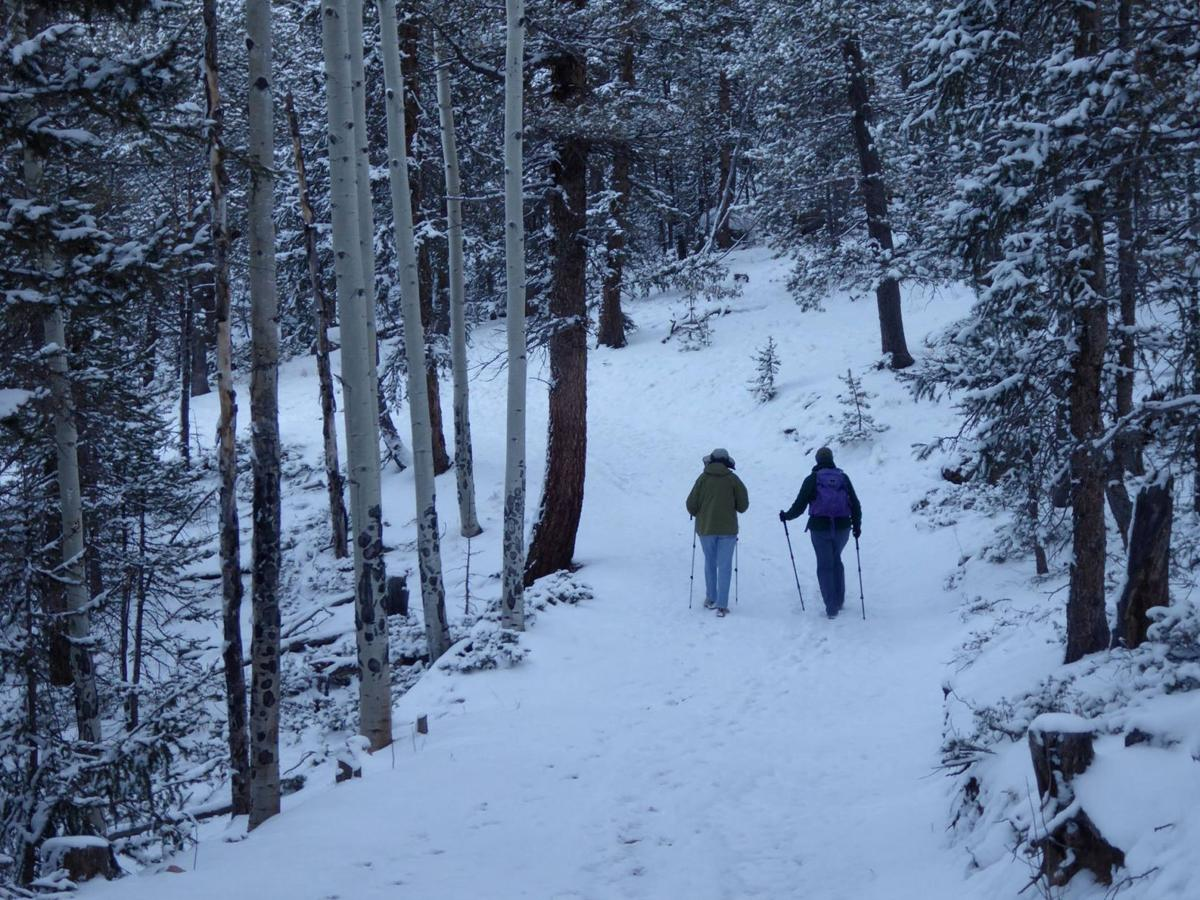 Mueller State Park offers peace and quiet during winter months