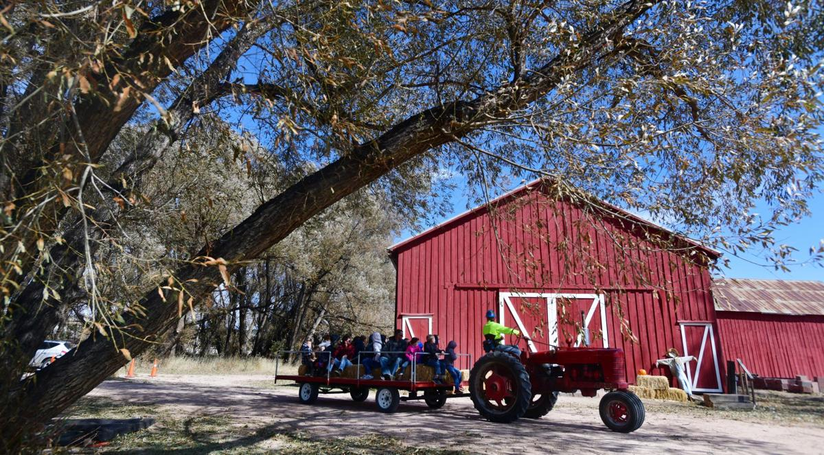Fall Hayride at Mining Museum