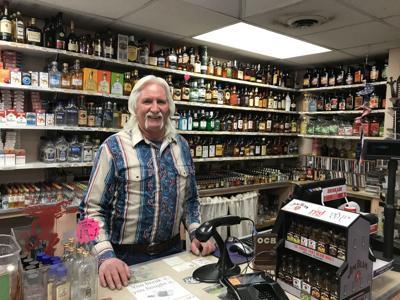 David Martin at D&D Liquor in Manitou