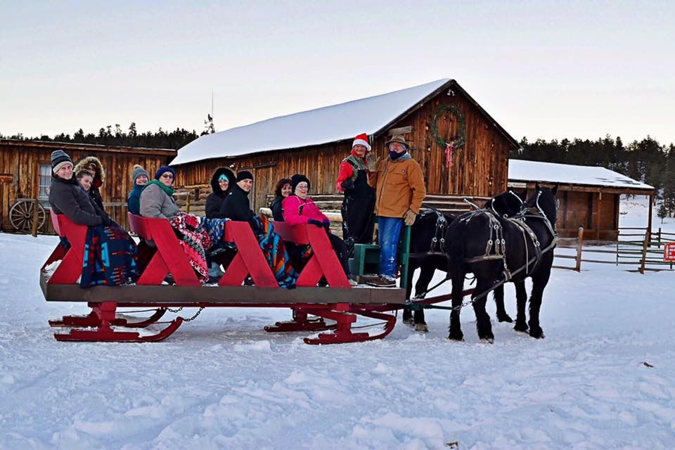 MLazy C Ranch Sleigh Ride and Dinner