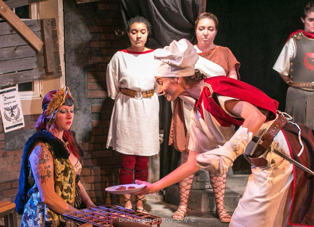 Theater Review: Springs Ensemble's all-female 'Titus Andronicus' a compelling conceit
