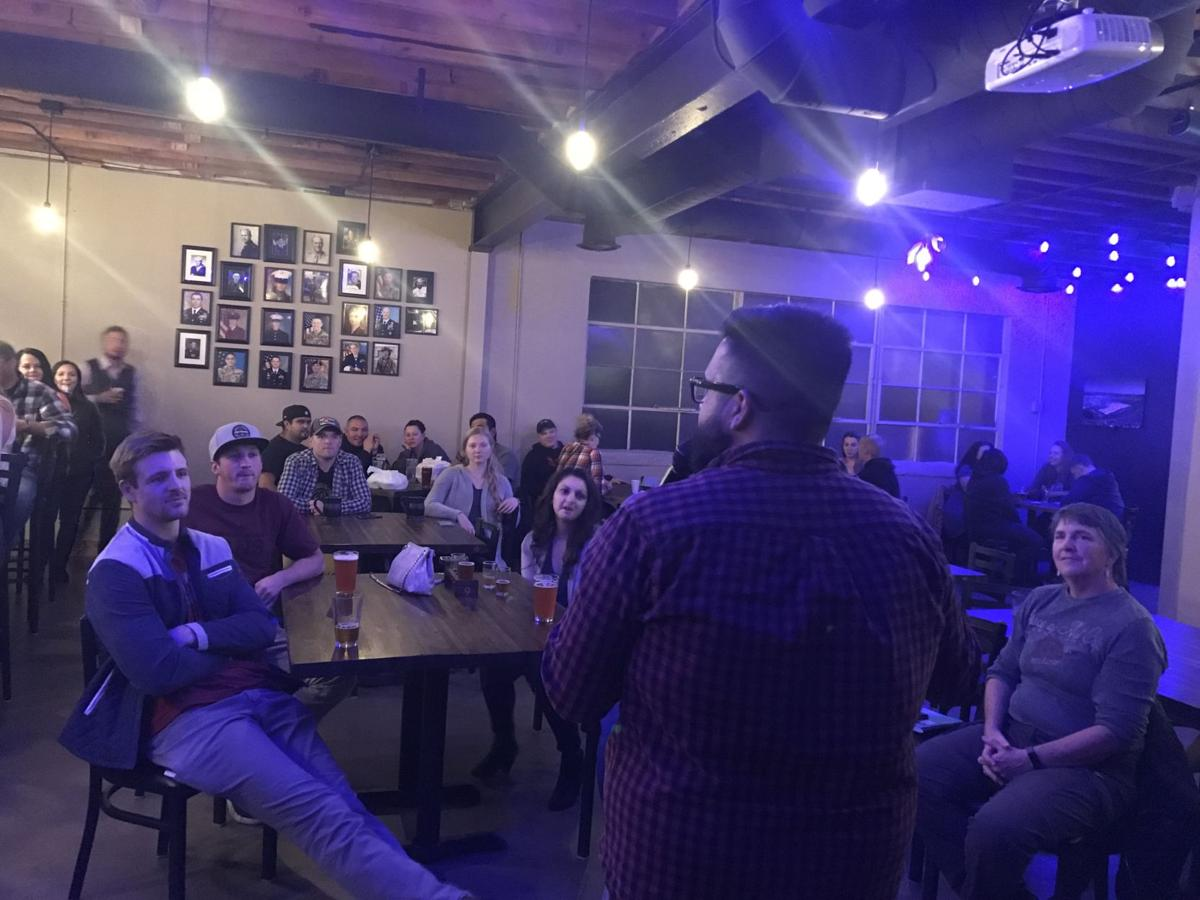 Laugh Your Brass Off Oct. 12 comedy night2.JPG
