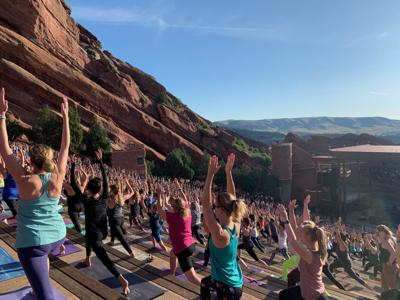 Yoga at Red Rocks