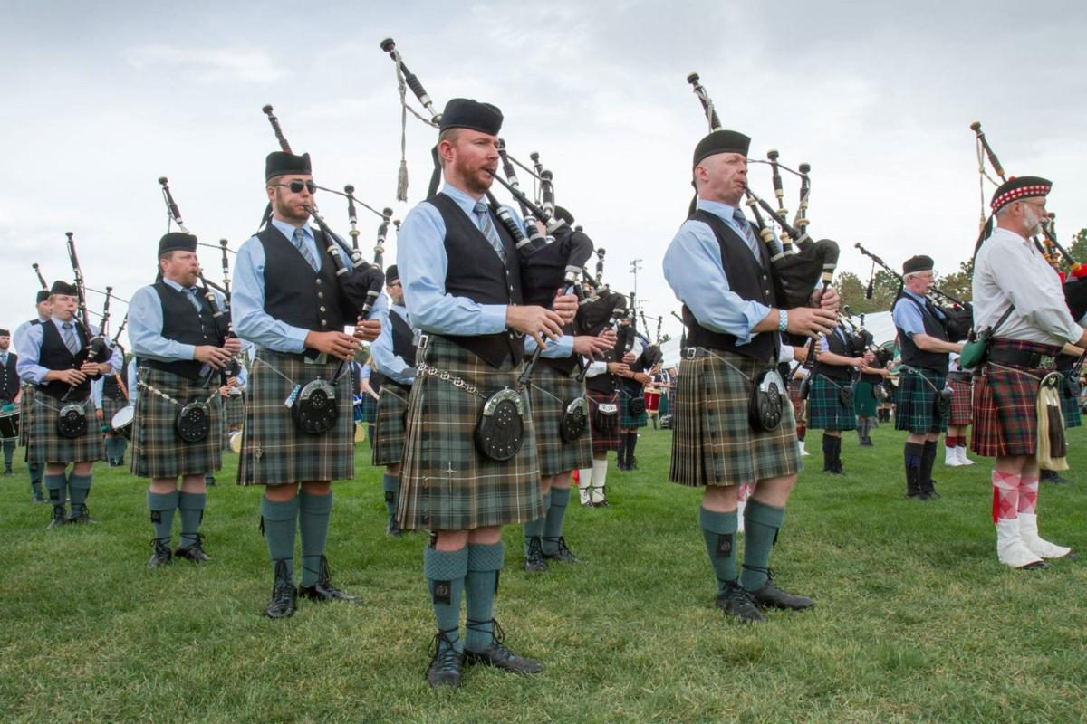 Almost 200 bagpipers set to play together at Colorado Springs festival