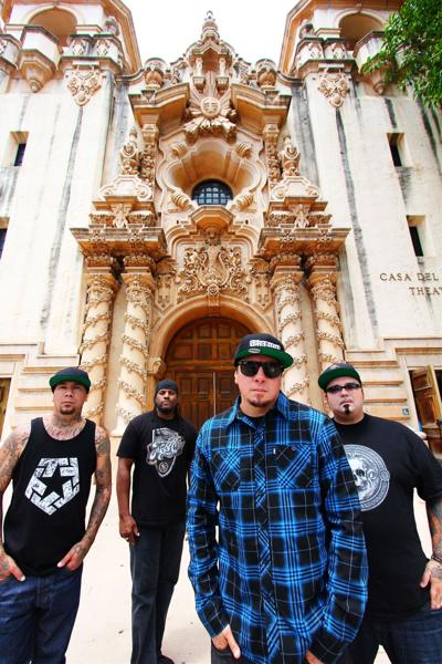 Metal band P.O.D. stops by The Black Sheep