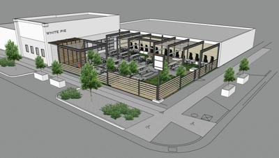 WHITE PIE PIZZERIA RENDERING
