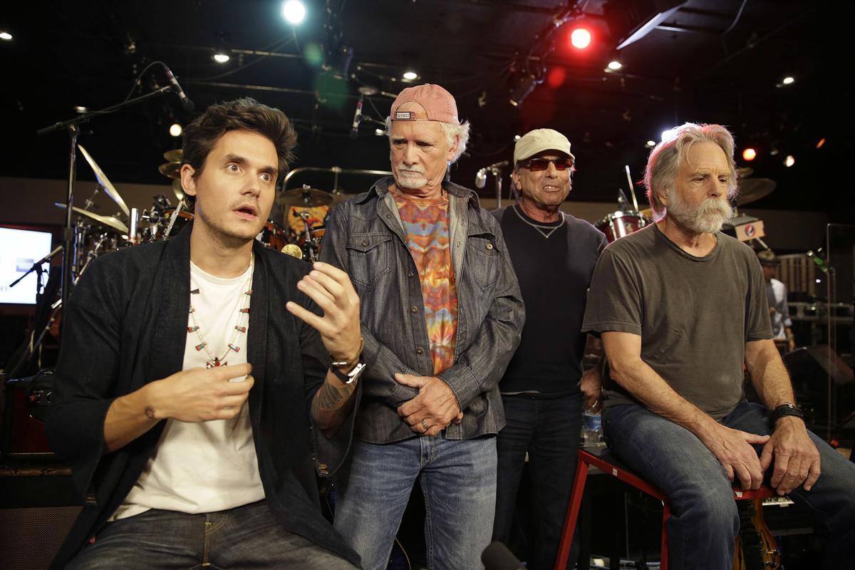 John Mayer, Bill Kreutzmann, Mickey Hart, Bob Weir