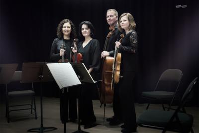 Veronika String Quartet coming to Colorado Springs Fine Arts Center