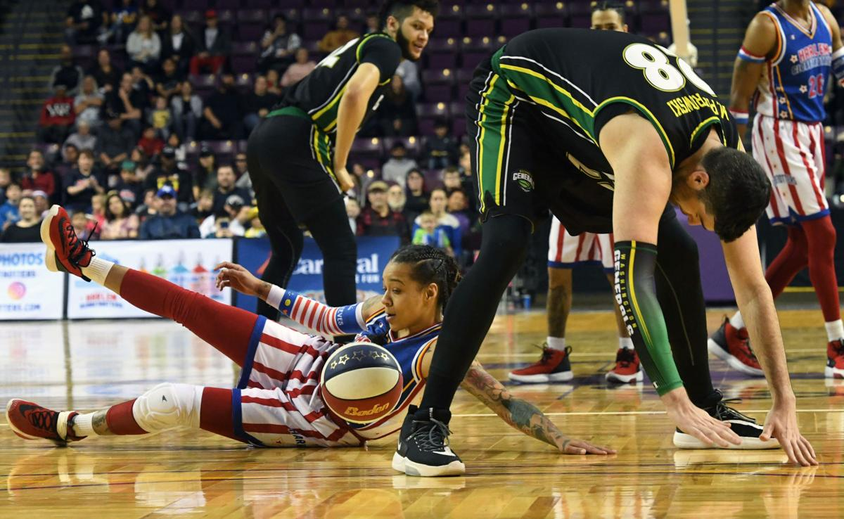 Harlem Globetrotters storm the World Arena