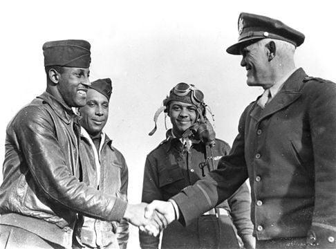 Air tricks, Tuskegee Airmen and 40 war aircrafts at Pikes Peak Regional Airshow