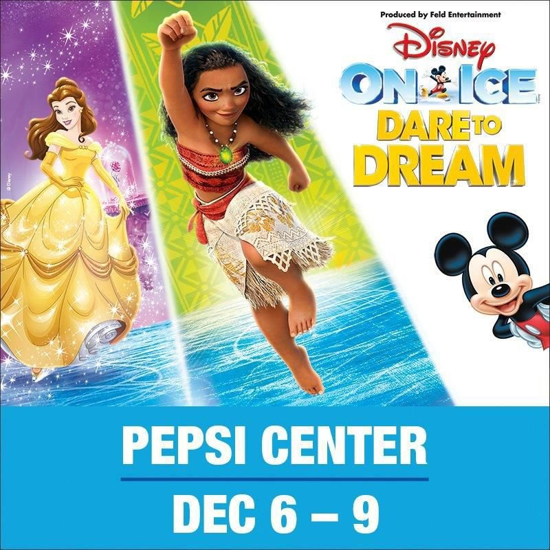 disney on ice small out of town