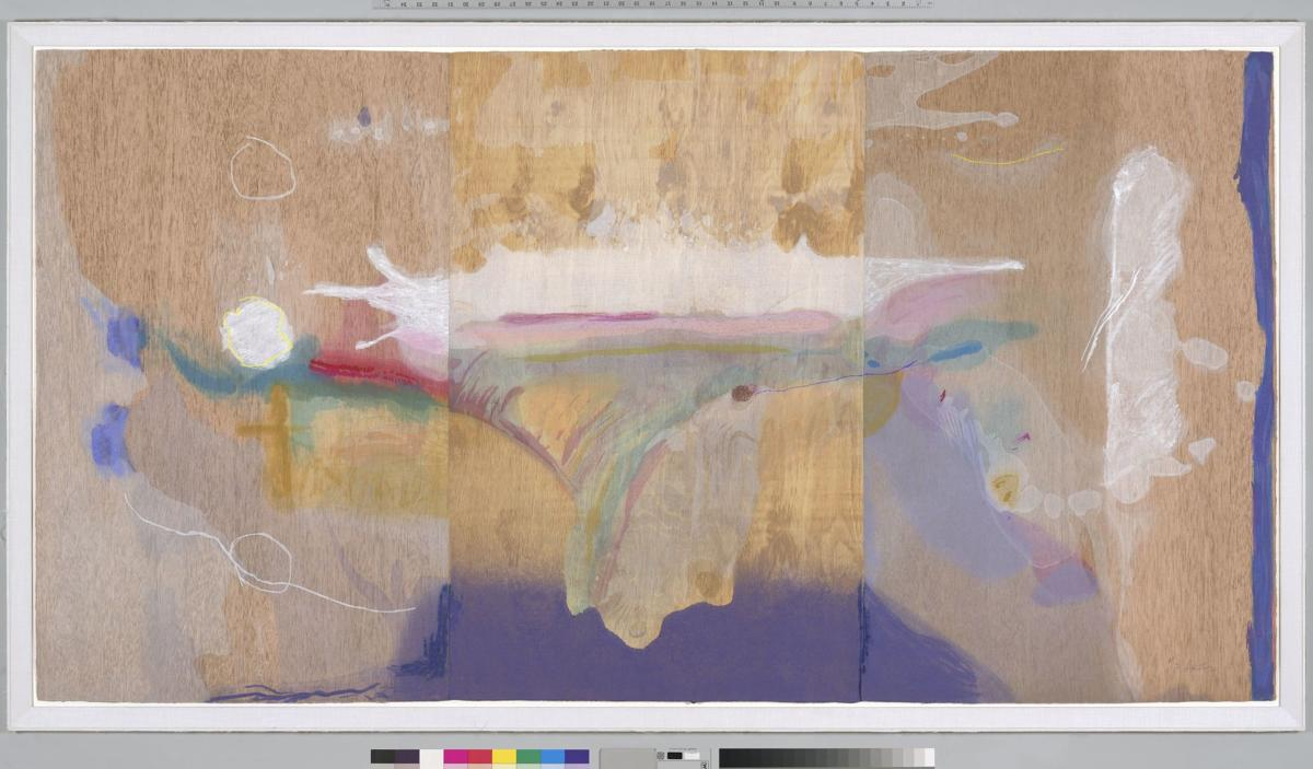 Madame Butterfly by Helen Frankenthaler from the collection of Jordan D. Schnitzer.tif
