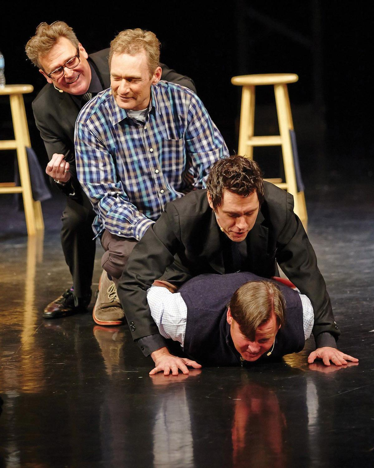 'Whose Live Anyway?' on stage features same games, comedians as TV version