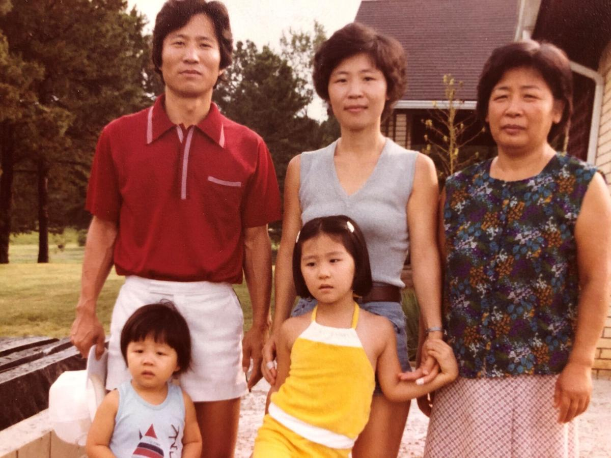 Chung Family not long after grandma arrived.jpg
