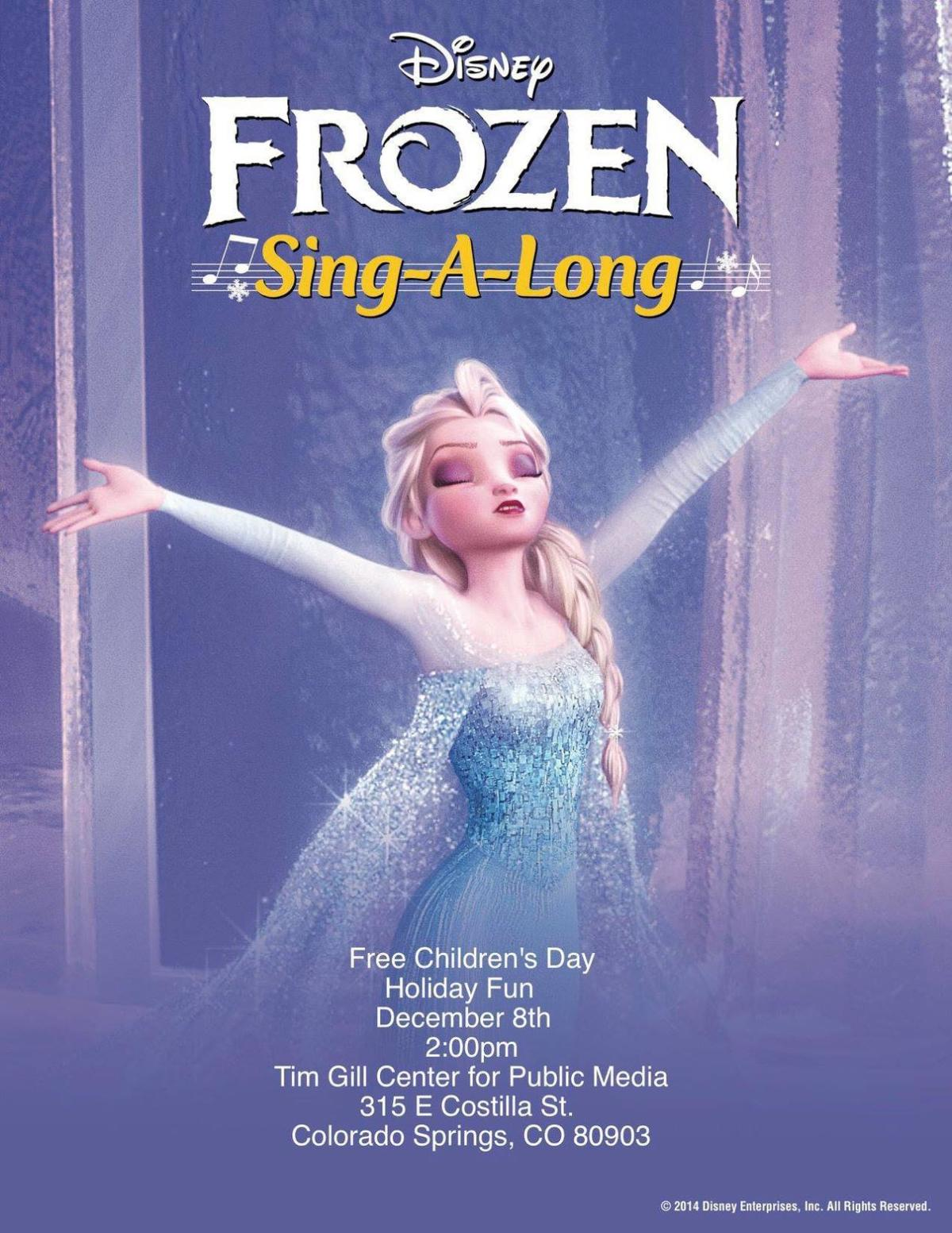 Childrens day IFF  Frozen singalong poster.jpg