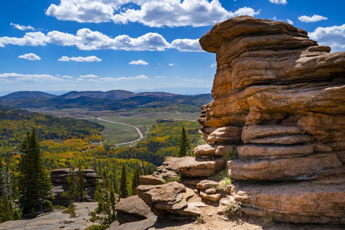 Fall on Pancake Rocks
