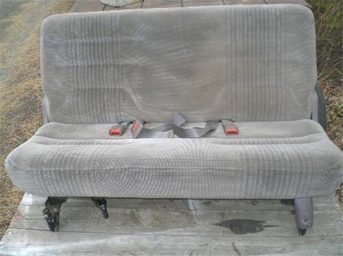 Dodge Caravan / Plymouth Voyager minivan bench seat 3rd row RAT ROD SEAT $75 ph 541 298 2687 image 1