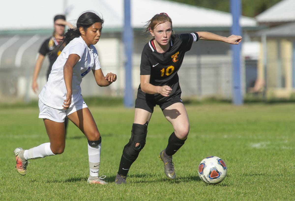 The Dalles girls soccer