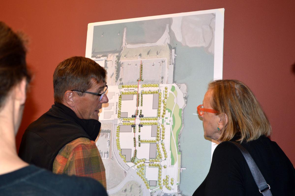 Port open house sheds light on Lot 1 plans