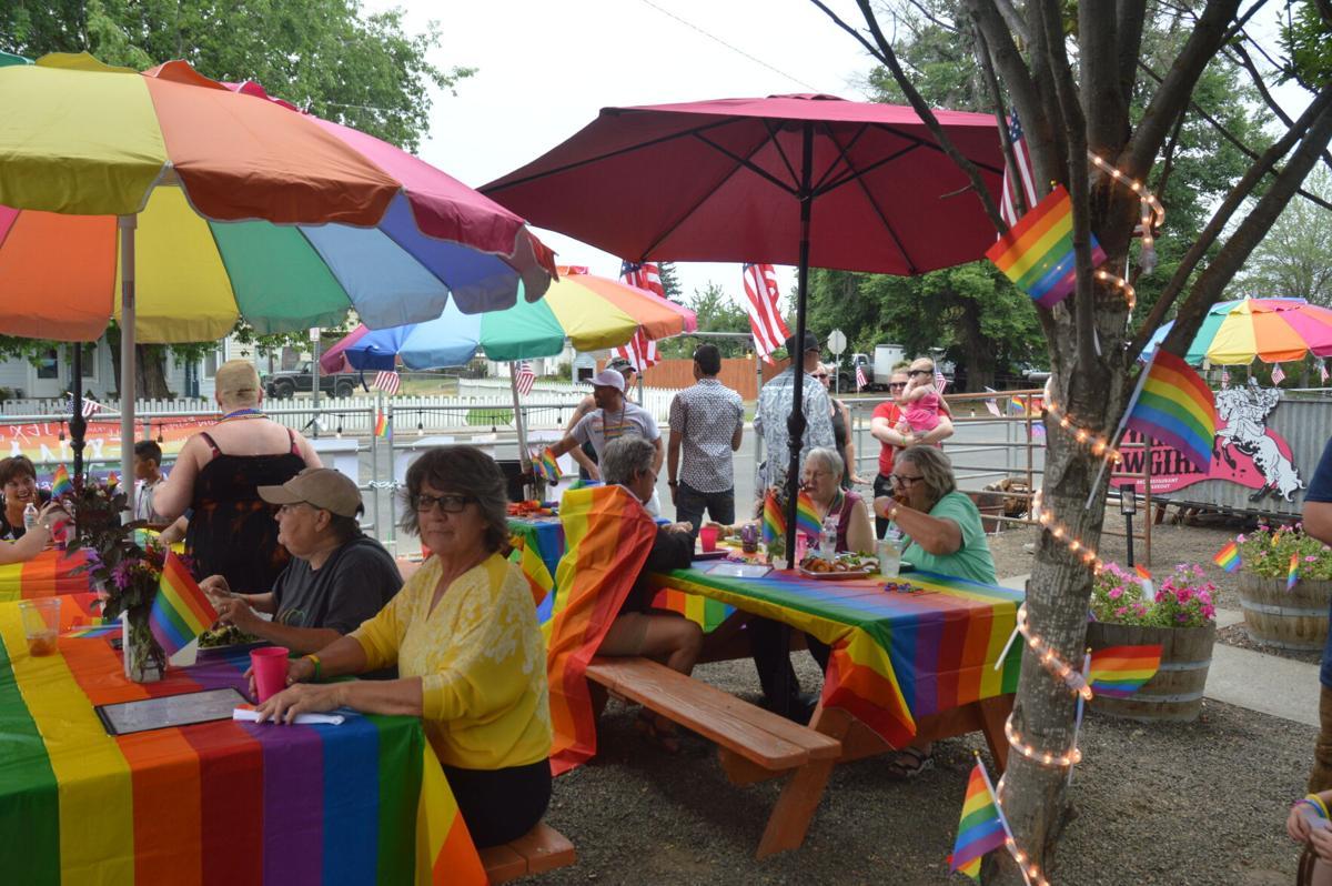 Gay Pride Parade in Goldendale