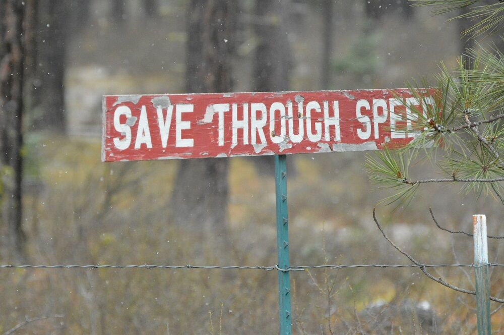 02-10 the porch burma shave sign.JPG