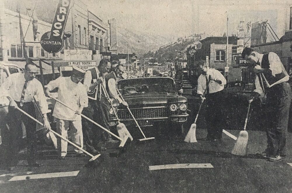Lions Broom Sale Hood River 1961