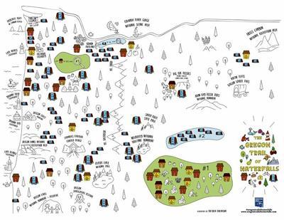 B&B doodle map