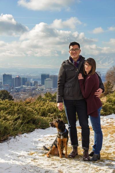 David Roh, Kendra Taylor wed