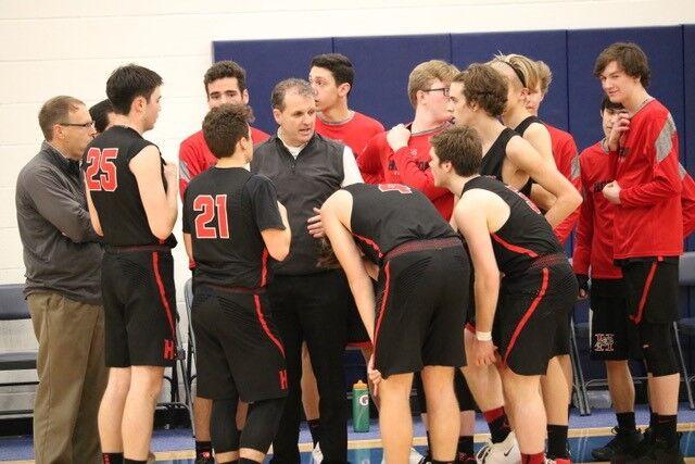 Horizon Christian boys basketball coach Darrin Lingel