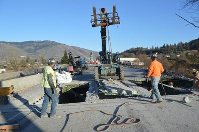 Hood River freeway work week of Feb. 8, 2021