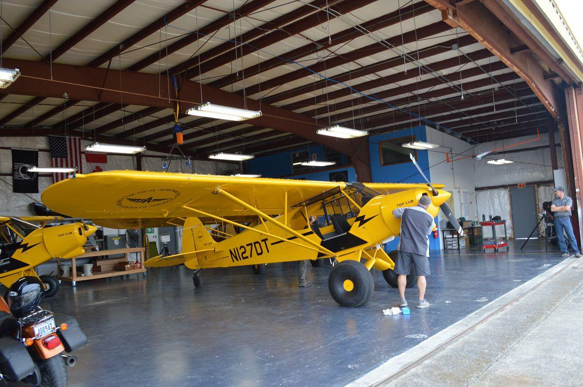 Hood River Airport on the rise