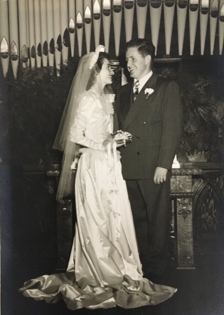 Marvin and Ruth Turner 70 years ago