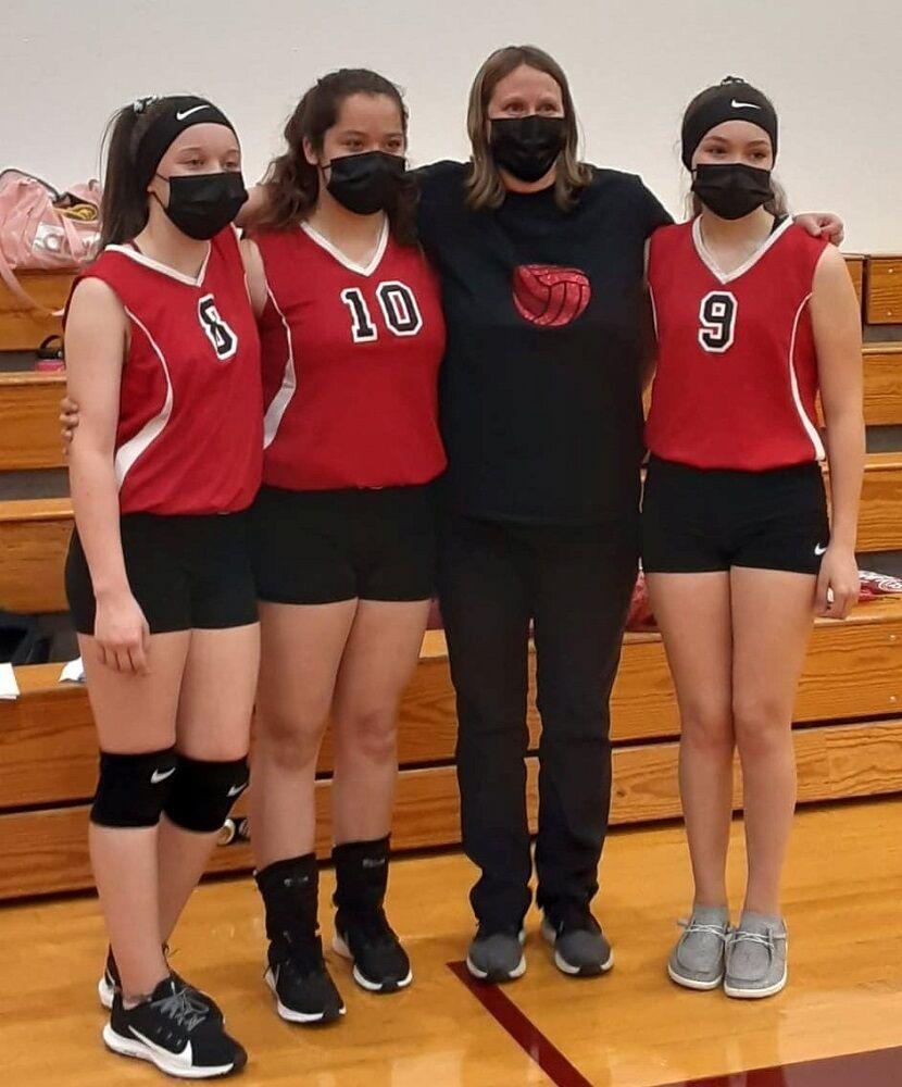 Glenwood MS volleyball 2021