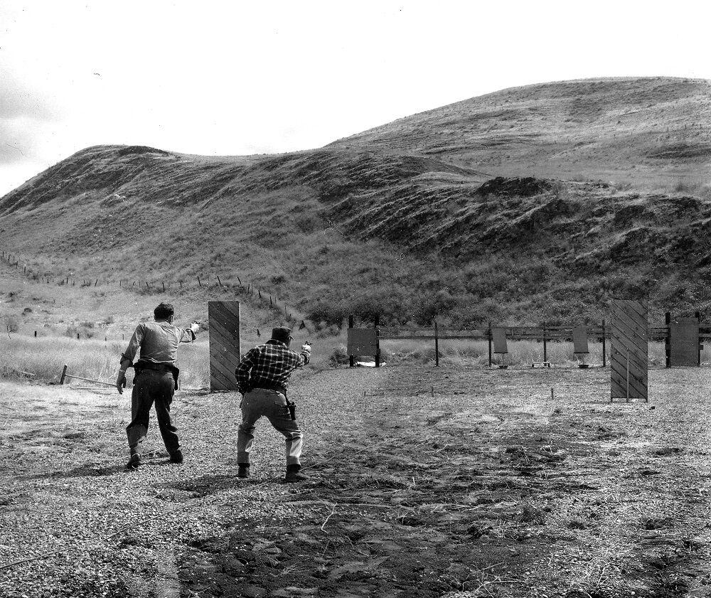 1959 Police TD firing range.jpg