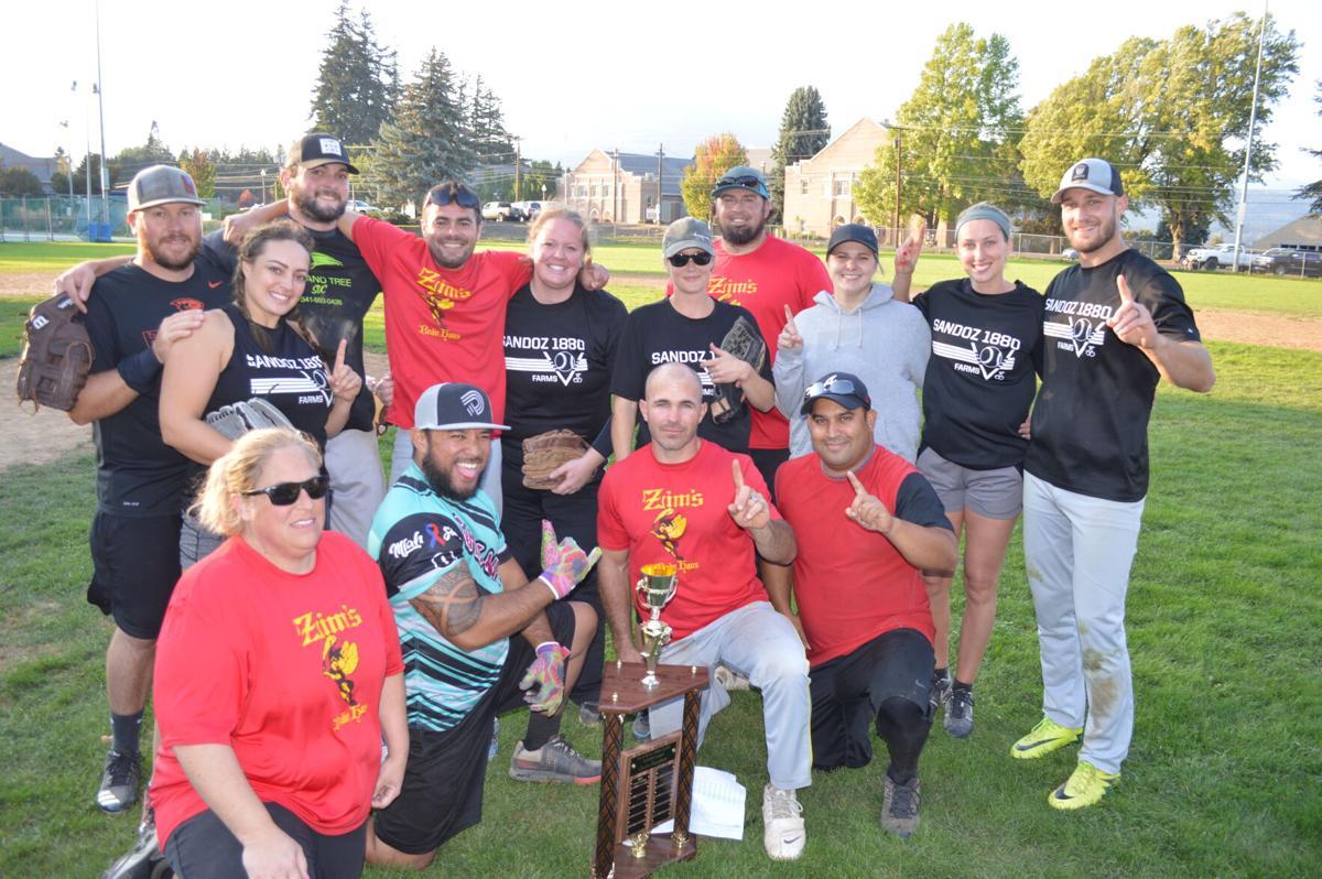 Zim's Brau Haus team with trophy.JPG