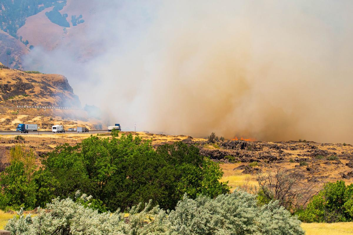 Mile Post 85 fire