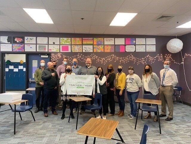 HRV teacher awarded Oregon's Regional Educator of Year group award